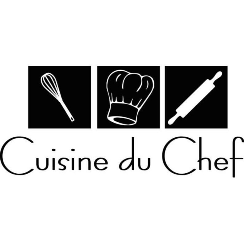 Chef/'s Kitchen Sticker 55cm x 120cm