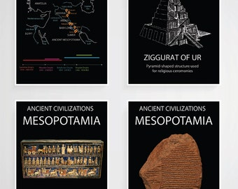 Printable Ancient Mesopotamia Poster