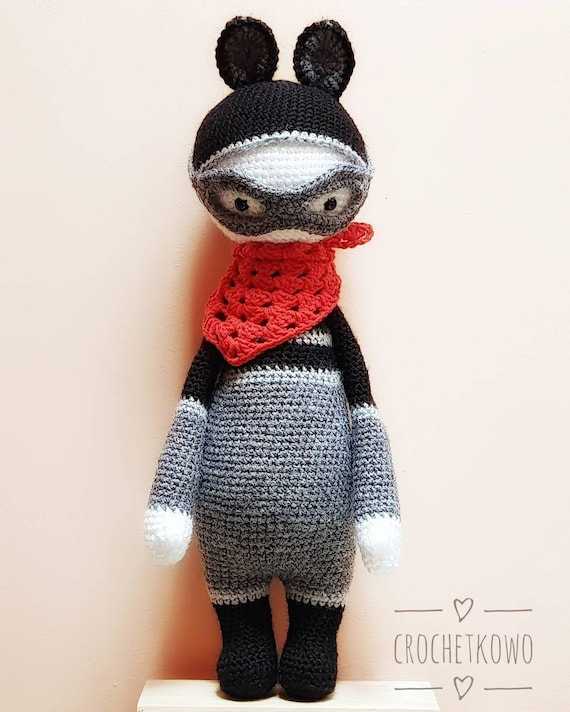 Roco Waschbär häkeln Puppe Amigurumi Stofftier häkeln Geschenk | Etsy
