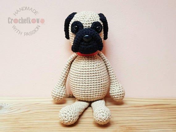 Red Tibetan Mastiff Puppy Crochet Afghan Kit-CST-9886 | 429x570