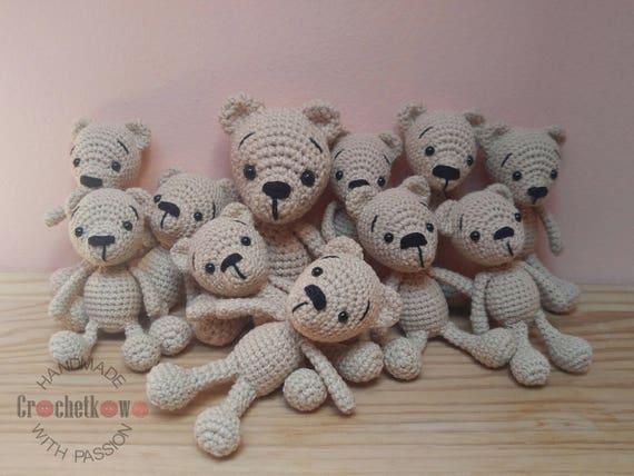 Häkeln Sie Teddy Bär Amigurumi Handmade Teddy Baby Kuscheltier