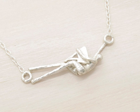 Handmade silver initial customizable necklace with chain and texture, minimal  necklace with initial letter pendant, Submanity collection