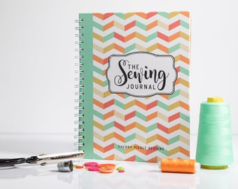 Sewing Journal - Dressmaking Journal - Sewing Record Book - Sewing Planner - Sewist - Sewing Gift - Sewing Notes - Sewing
