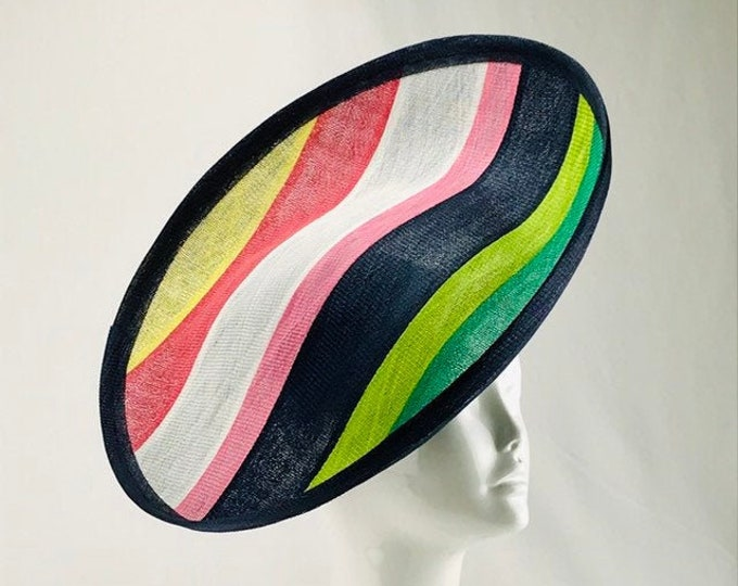 Multi Color Striped Hatinator