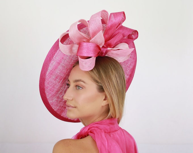 Pink Ombre Stripe Hatinator