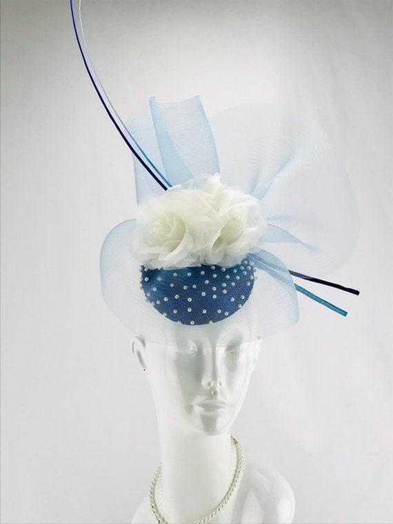 Cobalt Blue Fascinator