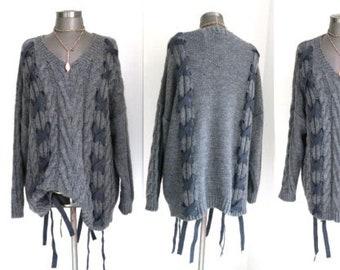 promo code 653ca e2fae Oversize pullover | Etsy