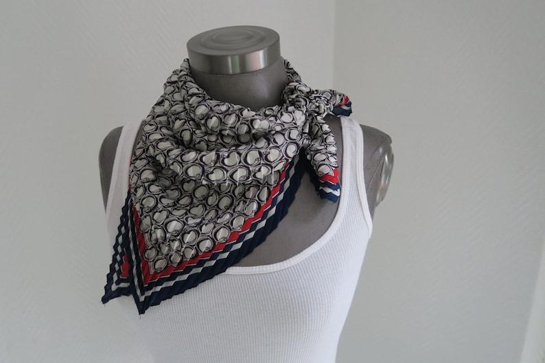 28fd431970c FOULARD neckerchief cloth silk mix cloth foulard cloth