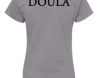 2-SIDED SHIRT - Birth is my passion t-shirt. Doula or midwife. Customize. Available in 5 colors.