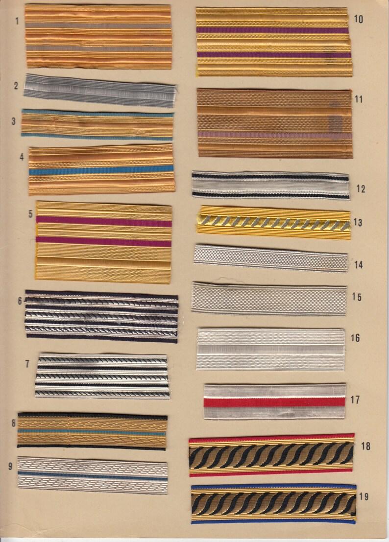Gradi per berretto mod. 1936 e pendagli sciabola Regio  3f1f001f2865