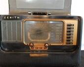 Zenith H500 Trans-Oceanic Wave Magnet Radio Circa 1951-53