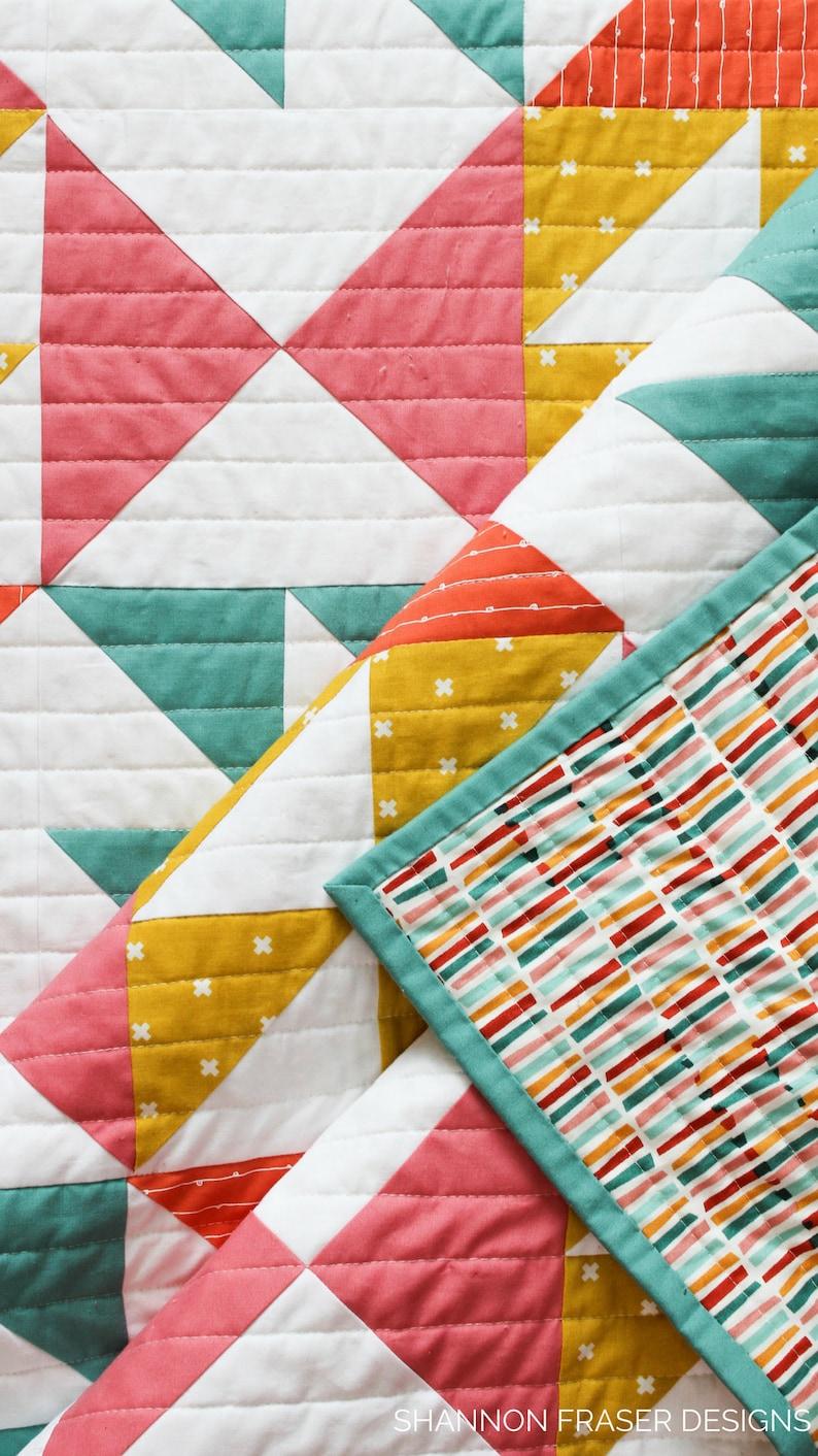 Pink Lemonade Quilt Pattern PDF   Etsy