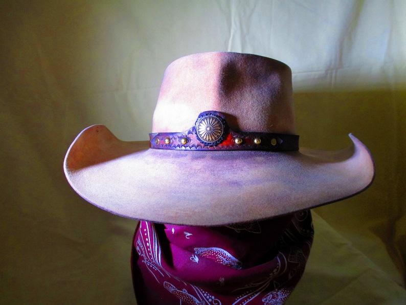 Vintage Renegade 5 XXXXX Beaver Felt Cowboy Hat Size 7-1 8  6da84ee800f6