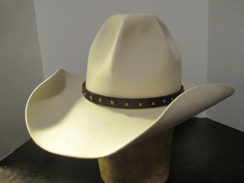 c8c3aa27c74f9 Vintage Western cowboy hat by Bailey size 7