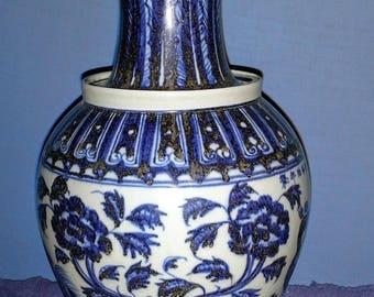 ming dynasty porcelain vase 1368 1644ad