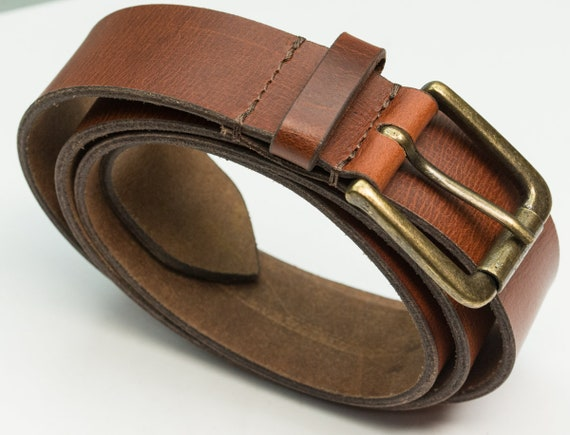 """DuK Genuine 100/% real leather belt quality tough mens jeans belts brown 30-40/"""""""