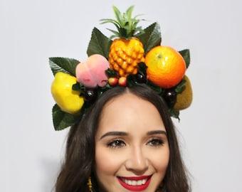 Chiquita Banana Costume Bodycon Skirt Chiquita Pencil Skirt Tropical Fruit Skirt Coconut Pineapple Skirt Halloween Costume-Cosplay
