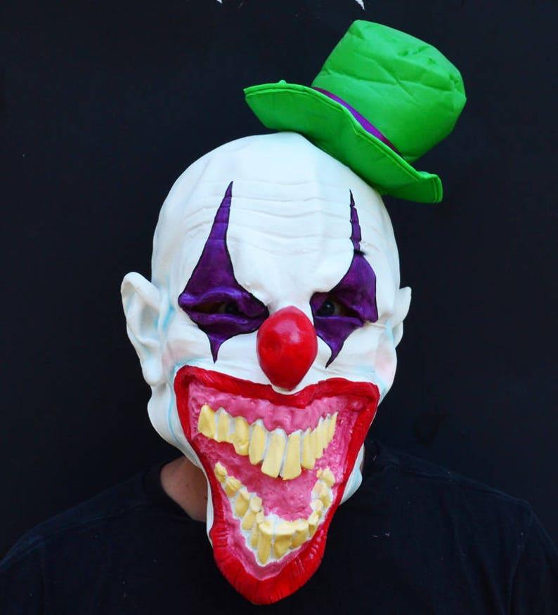 Chingo The Clown Latex Mask