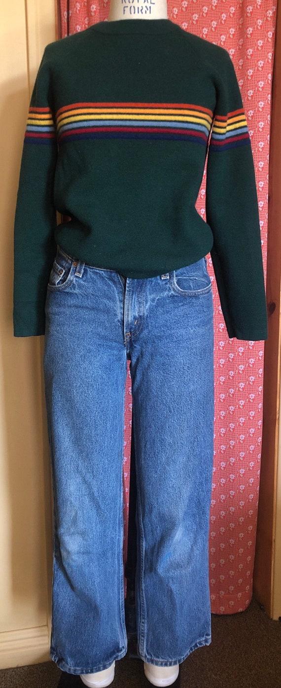 1970's striped sweater