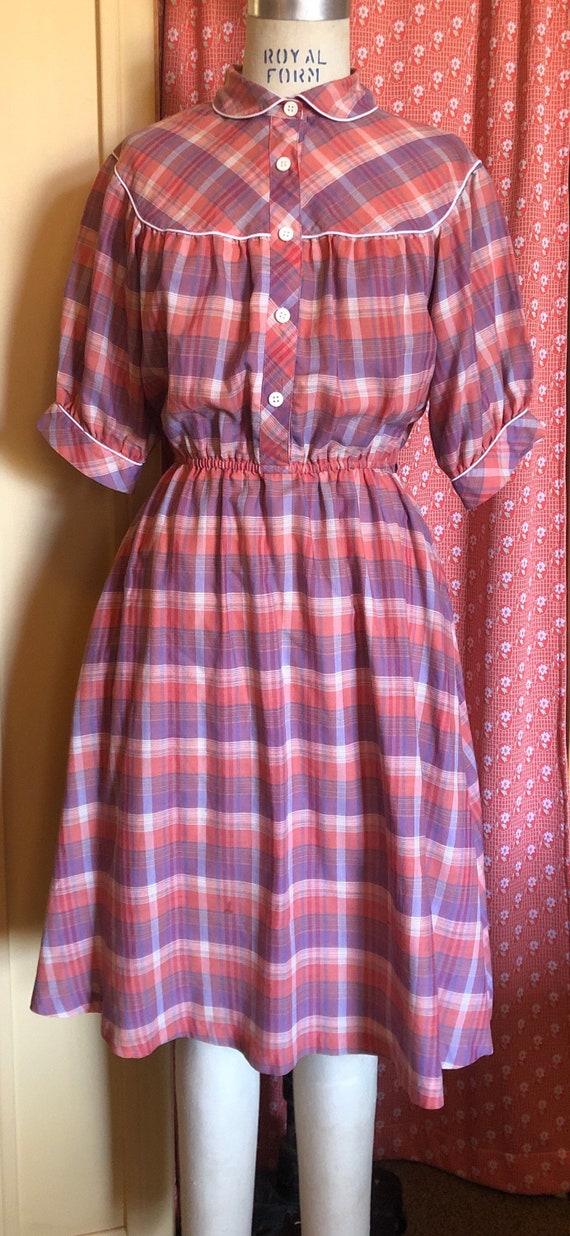 1950's cowgirl shirt dress