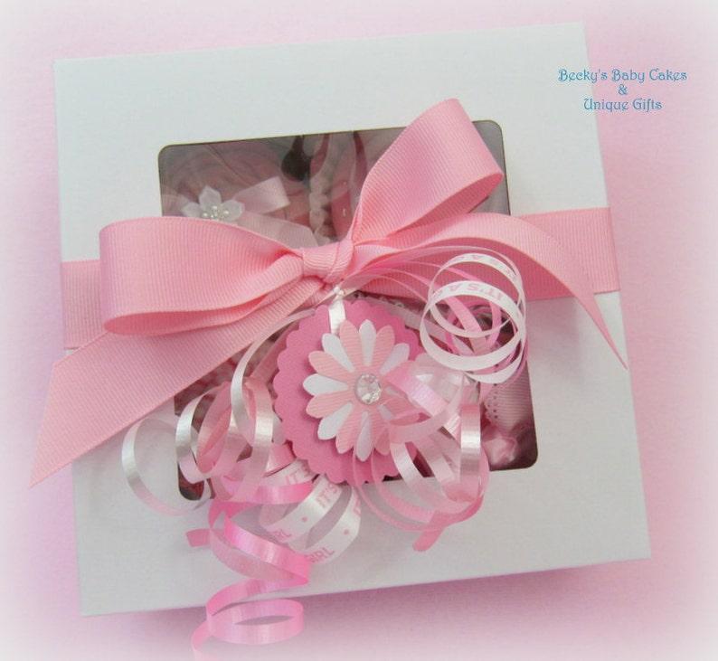 Onesie Cupcakes Baby Shower Gift Diaper Cupcakes Baby Shower Gift Set Baby Girl Gift Basket Unique Baby Gift