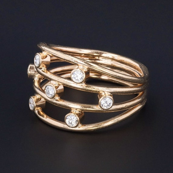 Vintage Diamond Ring | 14k Gold Ring | 14k Gold Di