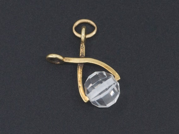 Ice Cube in Ice Tongs Charm | Celebration Charm |