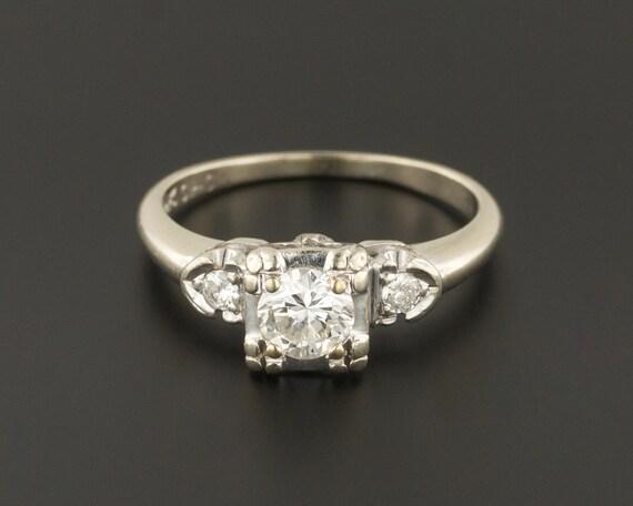 Vintage Engagement Ring | Diamond Engagement Ring