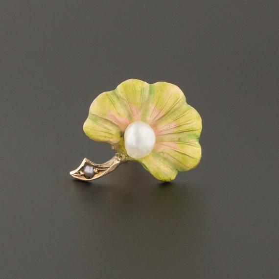Single Stud Earring | Gold Flower Earring | Mix an