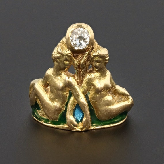 Art Nouveau Ring | Antique Ring | Man & Woman Ring