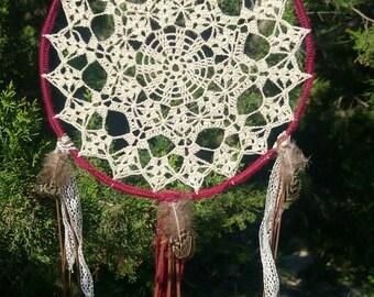 Dream catcher boho hippie crochet