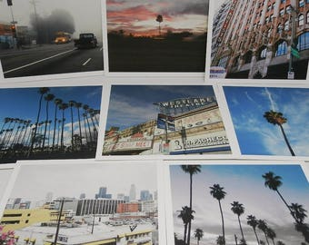 Every day in Los Angeles- 5 x 5' photo series
