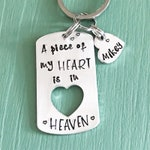 Remembrance Keychain--Sympathy and Grief Gift--Death of Loved One--Gift for Grieving Friend--Grieving Parent Gift--Loss of Child