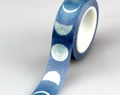 Moon Phase Washi Tape, Moon Satellite Planet Planner Washi, Space Decorative Tape, Crafting Tape, Gift Wrapping, Party Supplies