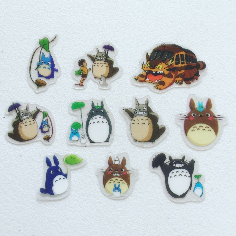 My Neighbour Totoro Mini Stickers Studio Ghibli Planner image 0