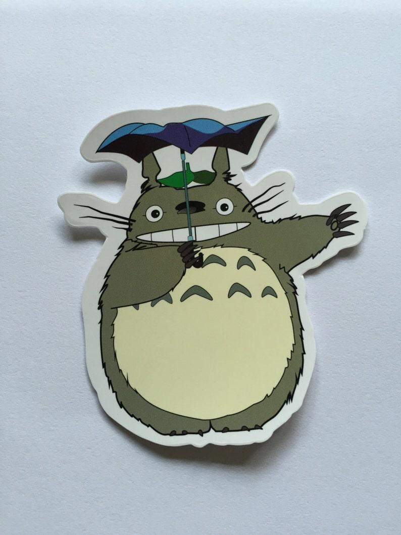 My Neighbour Totoro Inspired Sticker Studio Ghibli Sticker image 0