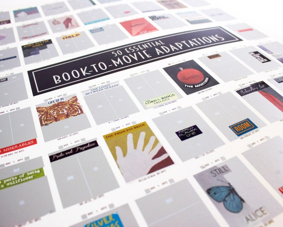 Image result for bookish scratch off poster
