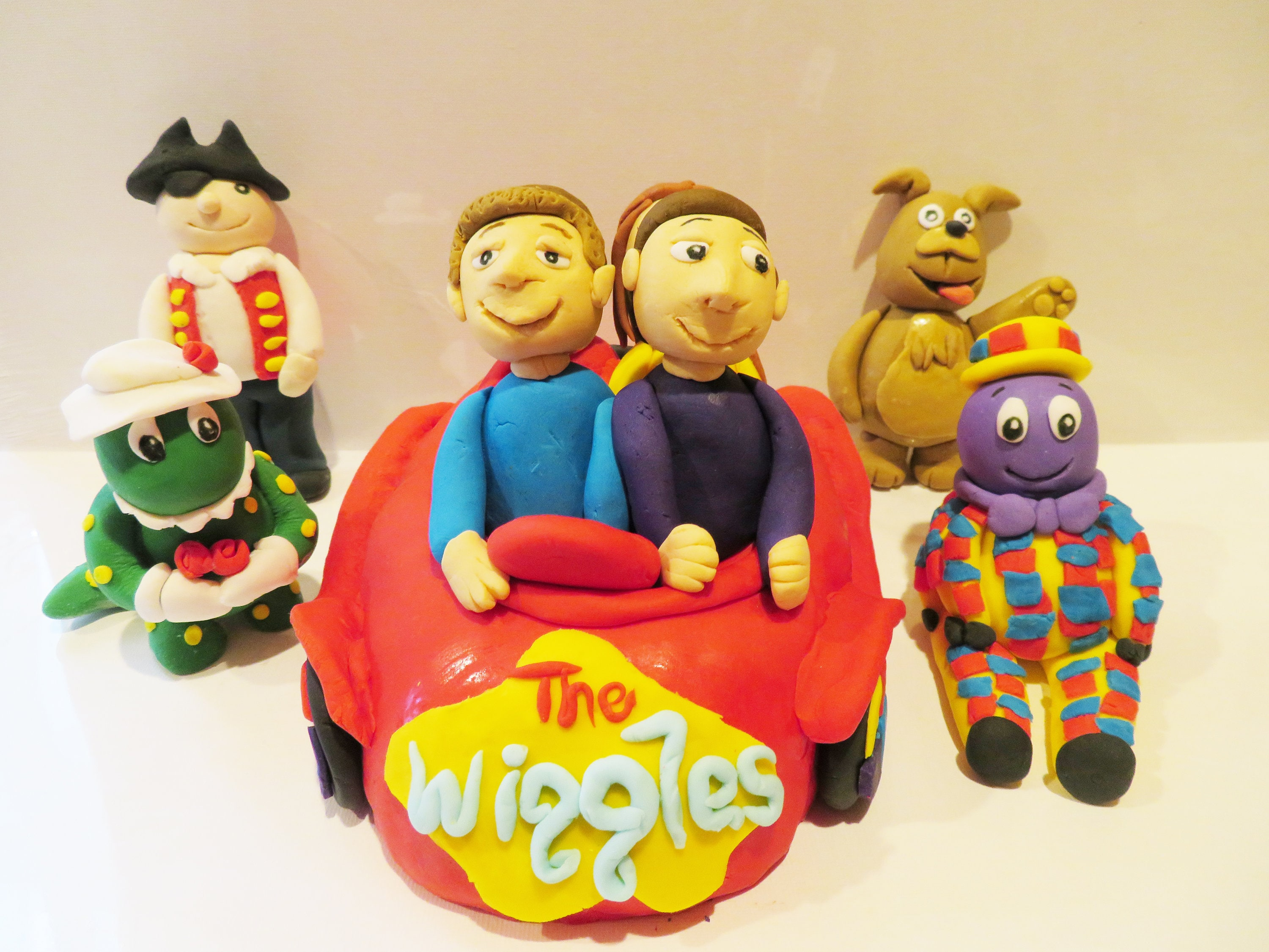 The wiggles cake toppers kids birthday party theme with | Etsy