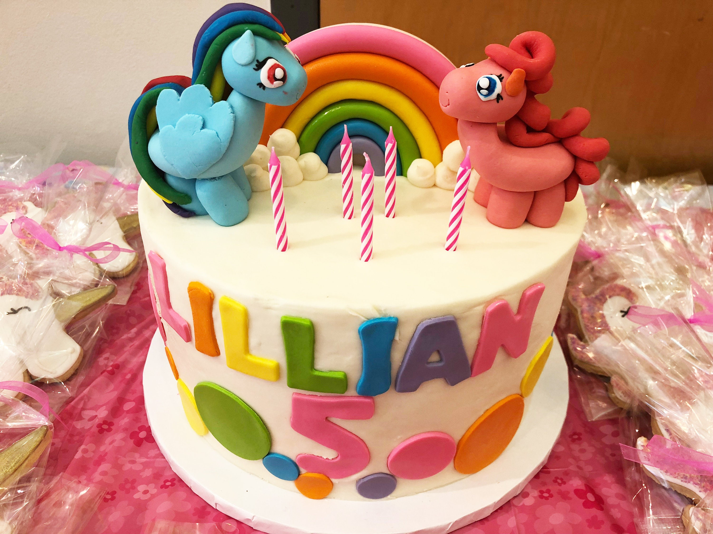 My Little Pony Cake Toppers Fluttershy Pinkie Pie Applejack