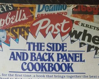 The Side and Back Panel Cookbook- Vintage Cookbook- Recipe Book- 1981