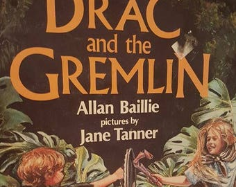 Drac and the Gremlin book- Vintage
