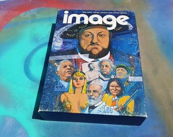 Image 1972 Game Vintage Board 3M Bookshelf Night 70s Henry The VIII