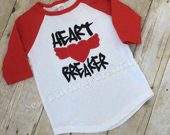 Heart breaker/valentine shirt