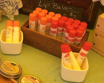 Natural Organic Lip Balm with a touch of honey