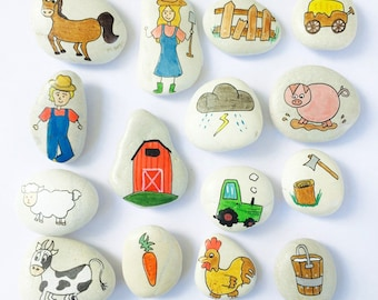 Story Stones - Farmyard Set
