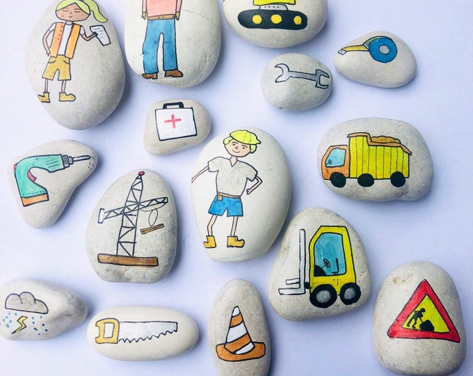Story Stones - Construction mix