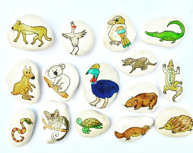 Story Stones - Australian Animals