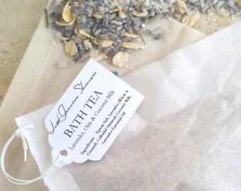 Lavender Oats and Coconut Milk   Bath Salts & Tea   Essential Oils   Sensitive Skin   Dry Skin   Irritated Skin