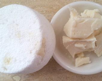 Milk & Butter Lux Bath Bomb - One 3 oz.Bath Bomb   Bath Fizzies   Coconut Milk   Mango Butter   All Natural   Favors   Gifts   Bath Melt