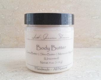 Body Butter   Moroccan Argan Oil   Shea & Cocoa Butter   Vegan   All Natural
